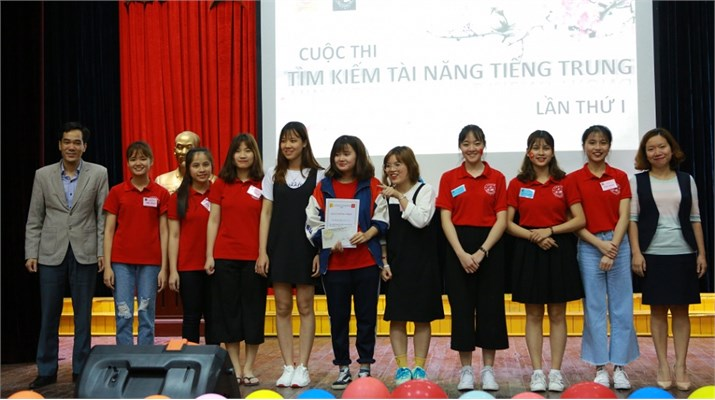 """Cuộc thi """"Tìm kiếm tài năng tiếng Trung lần thứ nhất"""""""