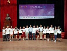 Cả 10 sinh viên thuộc đội tuyển Olympic Hóa học HaUI đều đạt giải tại Hội thi Olympic Hóa học toàn quốc 2018