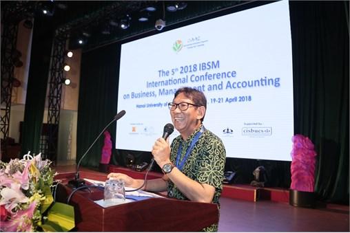 Hội thảo quốc tế lần thứ 5 về Kinh doanh, quản lý và Kế toán kết thúc thành công tốt đẹp