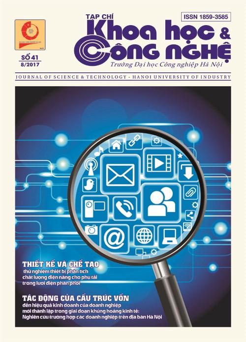 Tạp chí Khoa học và Công nghệ số 41 (8/2017)