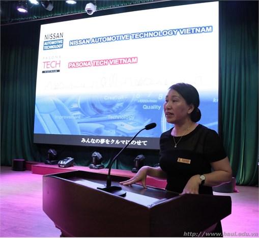 Giới thiệu chương trình liên kết đào tạo kỹ sư trình độ cao cho Công ty TNHH Nissan Automotive Technology Việt Nam và Công ty Pasona Tech Việt Nam