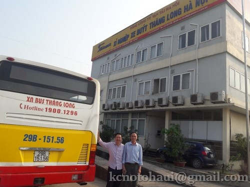 Buổi Thử nghiệm thiết bị TEG trên động cơ D1146 xe Bus tại Xí nghiệp xe Bus Thăng Long
