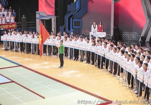 04 đội Robocon của Trường Đại học Công nghiệp Hà Nội dự khai mạc vòng chung kết cuộc thi Sáng tạo Robocon Việt Nam 2018