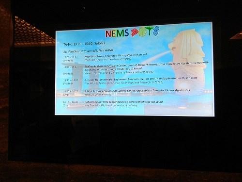 Báo cáo tại Hội thảo IEEE NEMS 2018 - Singapore