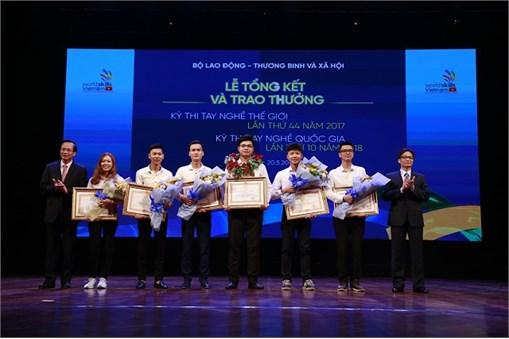 Đại học Công nghiệp Hà Nội đạt 15 giải tại Kỳ thi tay nghề quốc gia lần thứ X năm 2018