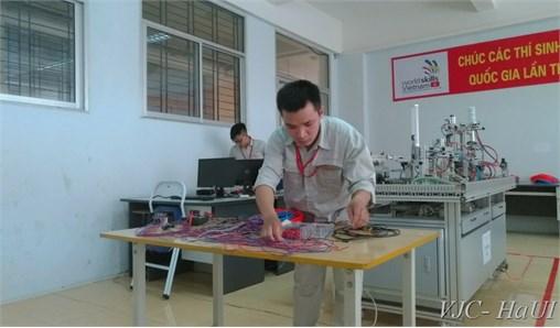 Sinh viên TT Việt Nhật đạt giải khuyến khích kỳ thi tay nghề Quốc gia năm 2018