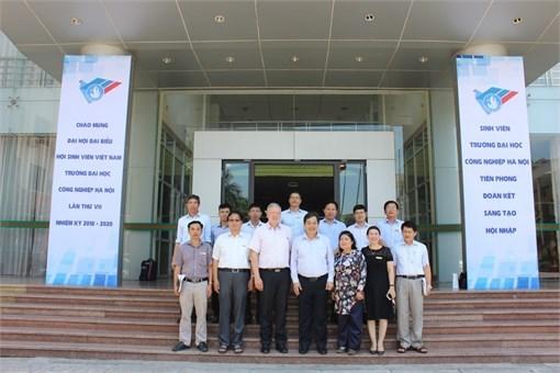 Tập đoàn Phoenix Contact, Cộng hòa Liên bang Đức đến thăm và làm việc với Trường Đại học Công nghiệp Hà Nội