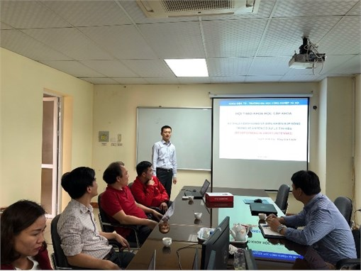 Hội thảo cấp đơn vị tại các bộ môn Khoa Điện tử