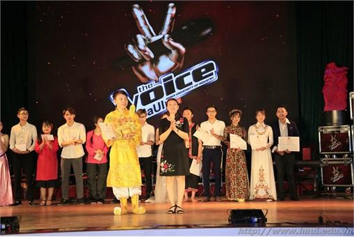 Đêm chung kết cuộc thi Giọng hát hay Học sinh sinh viên HaUI 2018