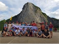 Khoa Khoa Học Cơ Bản tổ chức tham quan du lịch hè cho cán bộ, giáo viên