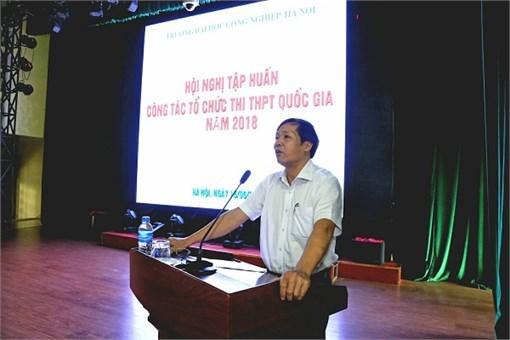 Tập huấn công tác Tổ chức thi THPT Quốc gia năm 2018
