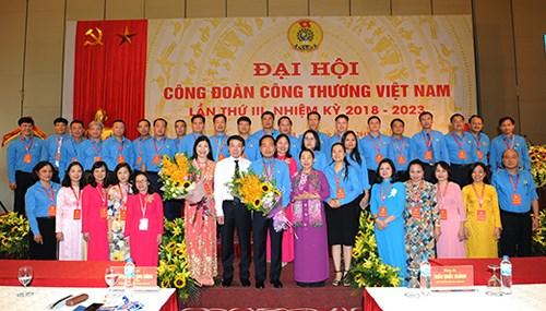 Đại hội Công đoàn Công Thương Việt Nam nhiệm kỳ 2018 - 2023