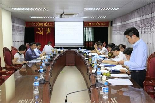 Nghiệm thu cơ sở đề tài NCKH cấp Nhà nước do PGS.TS Nguyễn Văn Lợi chủ nhiệm đề tài