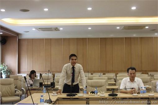 Ký biên bản ghi nhớ hợp tác giữa Trường Đại học Công nghiệp Hà Nội và Công ty cổ phần MISA