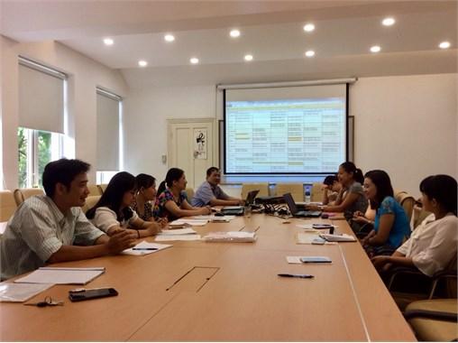 Tổ bộ môn Toán cơ bản họp triển khai kế hoạch đầu năm học