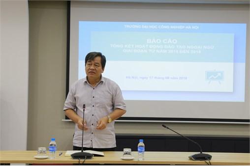 Đổi mới đào tạo ngoại ngữ cho sinh viên Đại học Công nghiệp Hà Nội đáp ứng yêu cầu hội nhập quốc tế