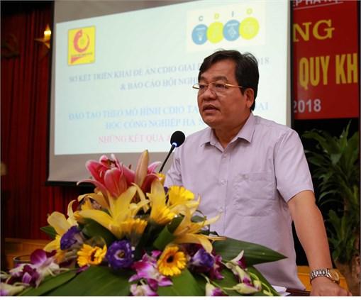 Áp dụng CDIO trong đổi mới giáo dục đại học tại Đại học Công nghiệp Hà Nội