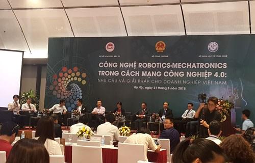 Hội thảo Công nghệ Robotics - Mechatronics trong cách mạng công nghiệp 4.0
