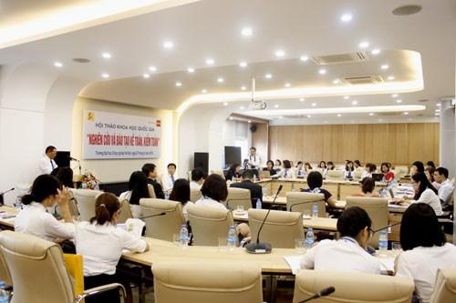 """Hội thảo khoa học quốc gia: """"Nghiên cứu và đào tạo kế toán, kiểm toán"""""""