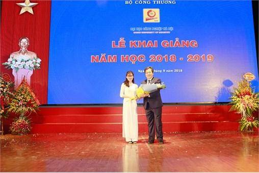 Lễ Khai giảng năm học mới 2018 - 2019 tại Đại học Công nghiệp Hà Nội