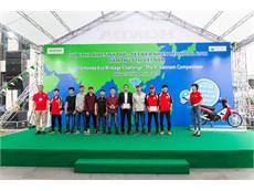 Đội tuyển xe tiết kiệm nhiên liệu SUPERCUP 50 – Đại học Công nghiệp Hà Nội đứng thứ 6/480 đội tham dự cuộc thi Honda EMC tổ chức tại Nhật Bản