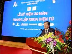 Lễ Kỷ niệm 20 năm thành lập Khoa Điện tử