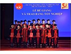 Lễ bế giảng và trao bằng tốt nghiệp cho 231 sinh viên hệ Cao đẳng nghề JICA K9