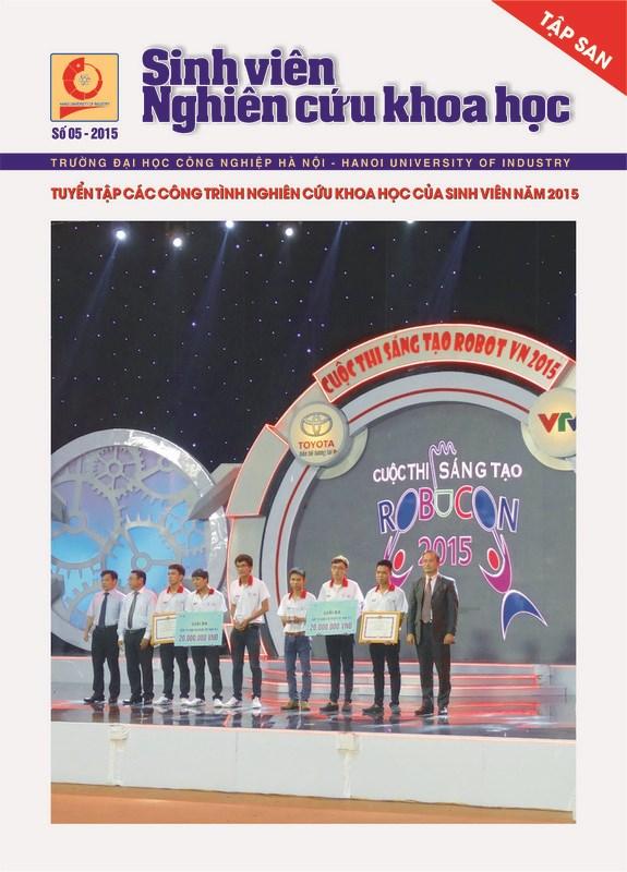 Tập san Sinh viên nghiên cứu khoa học số 5 - 2015