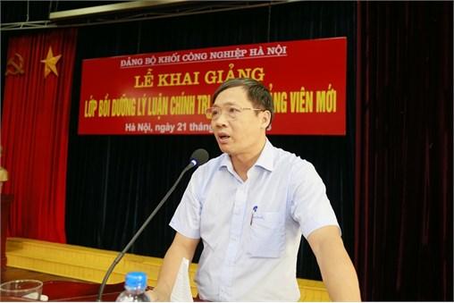 Khai giảng lớp Bồi dưỡng lý luận chính trị dành cho Đảng viên mới năm 2018