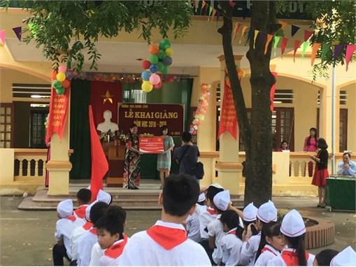 Viện công nghệ HaUI bàn giao hệ thống lọc nước uống tinh khiết công suất lớn cho trường THCS Quang Lãng – Huyện Phú Xuyên – Hà Nội trong dự án cộng đồng được tài trợ bởi Tập đoàn Coca Cola