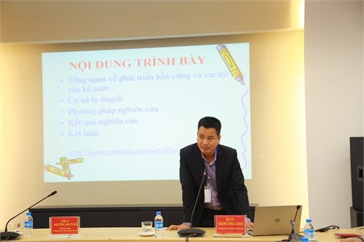 National Science Seminar: `Research and Training in Accounting and Auditing`