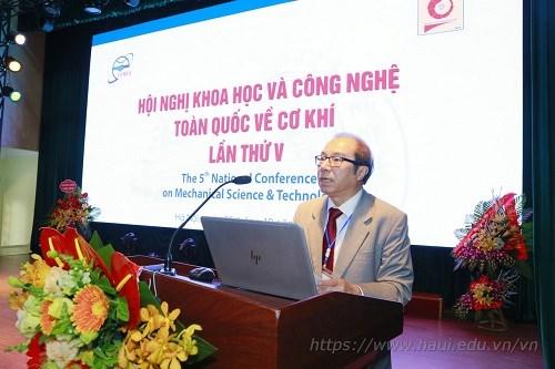 Hội nghị Khoa học và Công nghệ toàn quốc về Cơ khí lần thứ V- 2018