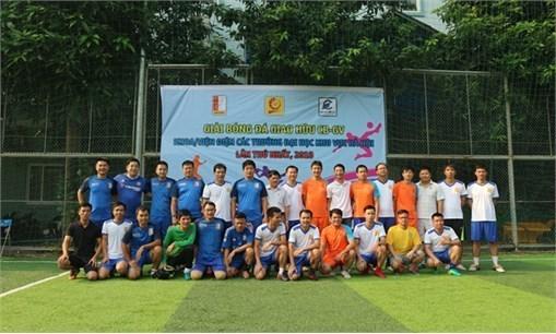 Giải bóng đá giao hữu CB-GV khoa/viện Điện các trường đại học khu vực Hà Nội lần thứ nhất, 2018