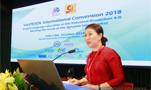 The VietTESOL International Convention 2018: English language education in the industrial revolution 4.0: meeting the needs of the dynamic labor market