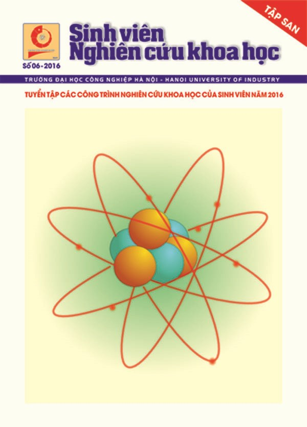 Tập san Sinh viên nghiên cứu khoa học số 6 - 2016