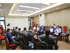Nghiệp đoàn khách sạn Nhật Bản thăm và làm việc với Trường Đại học Công nghiệp Hà Nội