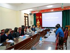 Kangnam University, Korea and Hanoi University of Industry talk on training cooperation