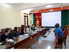 Kangnam University, Korea and Hanoi University of Industry talk on training cooperation