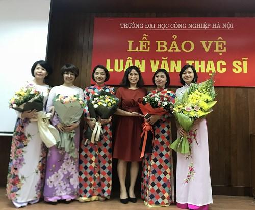 Bảo vệ luận văn thạc sĩ đợt 2 năm 2018 – Trường Đại học Công nghiệp Hà Nội