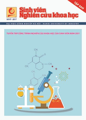 Tập san Sinh viên nghiên cứu khoa học số 7 - 2017