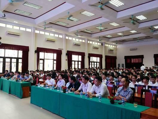 Lễ phát động Phong trào sinh viên Nghiên cứu khoa học và Sáng tạo công nghệ năm học 2018-2019