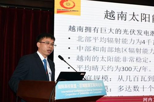 Trường Đại học Công nghiệp Hà Nội tham gia Hiệp hội quốc tế về phát triển công nghệ năng lượng điện tại Trung Quốc