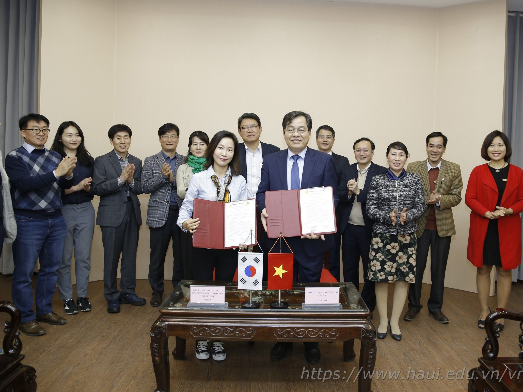Signing a Memorandum of Understanding with Seoul National University of Science and Technology - Korea