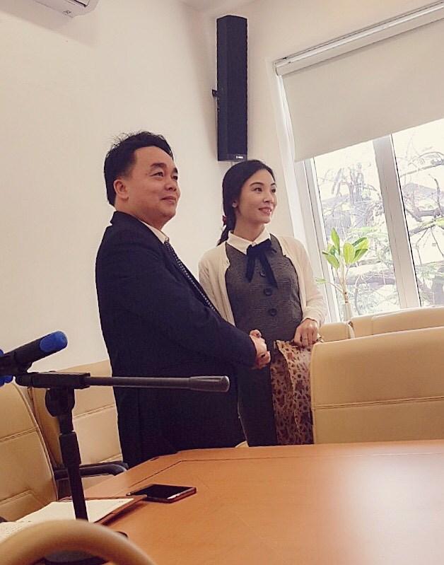 Lễ chia tay cô giáo Kiều Nguyệt Kim.