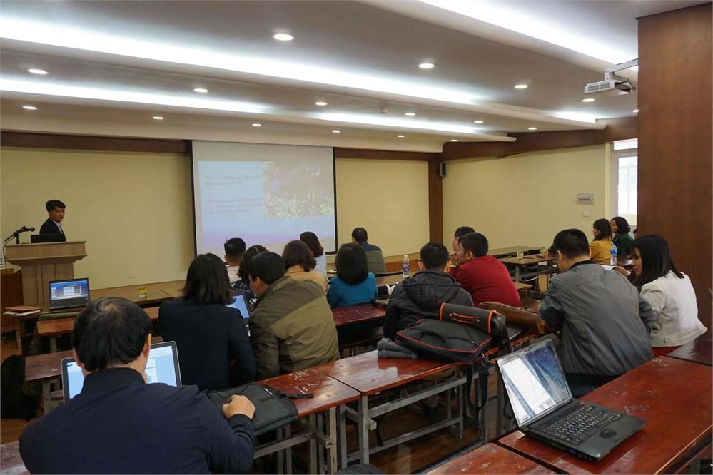 Hội nghị khoa học cấp Khoa Công nghệ hóa lần thứ nhất