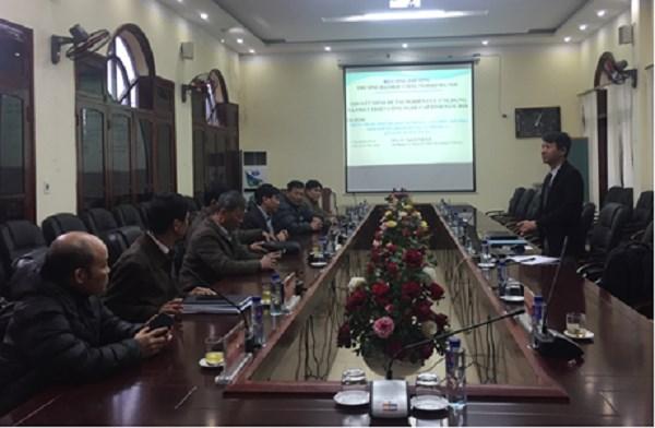 Kiểm tra tiến độ thực hiện đề tài cấp tỉnh Sơn La
