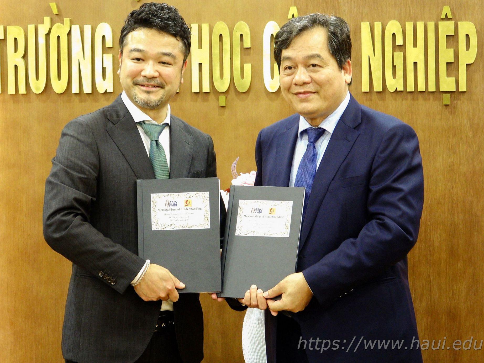 Hợp tác liên kết đào tạo và tuyển dụng sinh viên Đại học Công nghiệp Hà Nội làm việc tại Nhật Bản