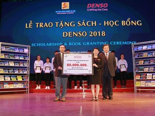 Danh mục sách Quỹ Denso tặng Trường Đại học Công nghiệp Hà Nội năm 2018