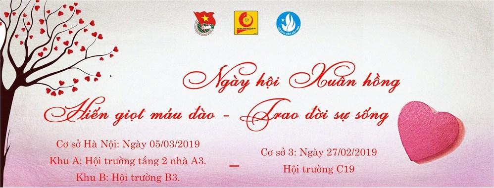 Thông báo tổ chức Ngày hội Xuân hồng 2019