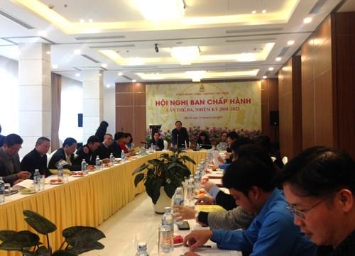 Hội nghị Ban Chấp hành Công đoàn Công thương Việt Nam lần thứ III, nhiệm kỳ 2018 - 2023